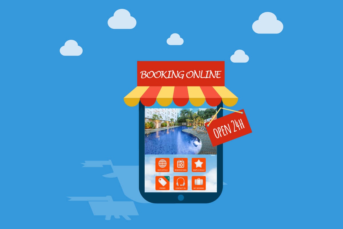 mobile booking for hotels