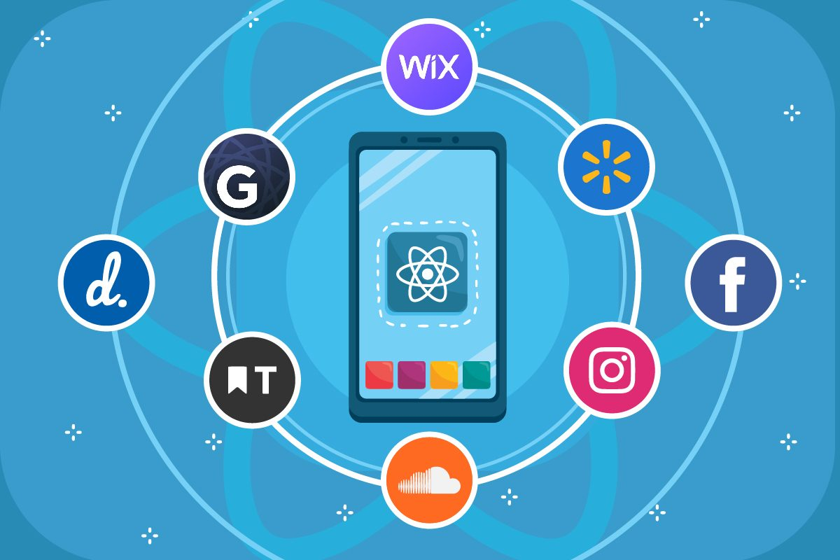 Some Famous Apps using React Native